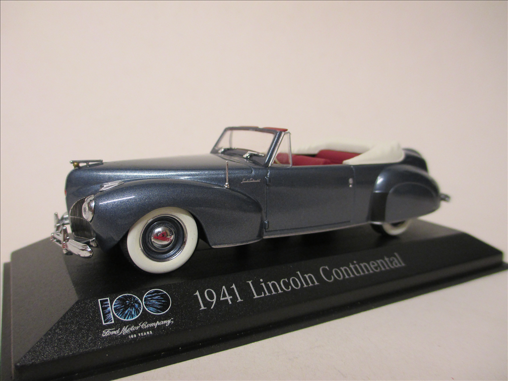 Model Car Scale Diecast Scalecars 1941 Lincoln Town Modelauto Schaal 143