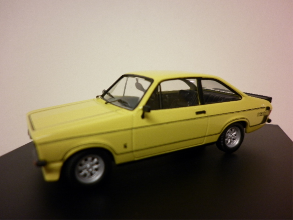 Ford escort starts in second gear